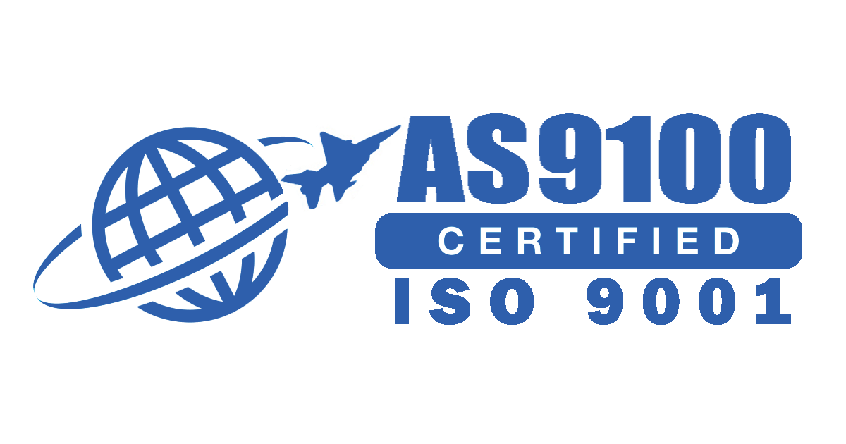 AS9100 Certified with ISO 9001